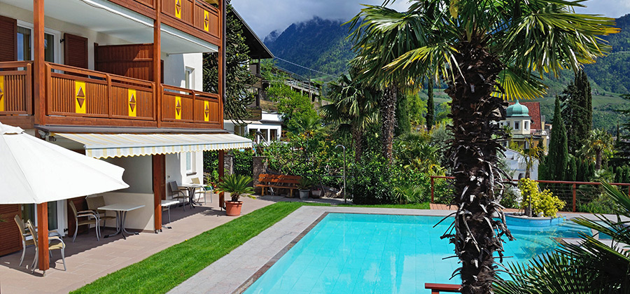 Villa Gang, Pension, Gasthof, Meran, Zimmer mit Halbpension